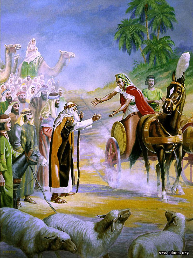 225 45 15 >> 【雅各全家下埃及】46:1-33
